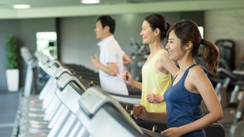 短時間の全力運動も、長時間の有酸素運動もGOOD。持久力をアップして、元気なカラダに!